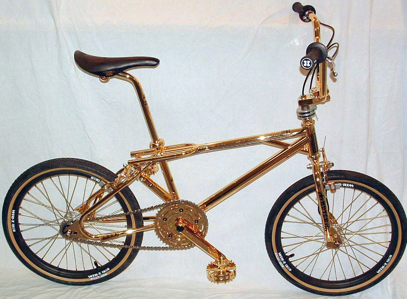 dave mirra gold bike